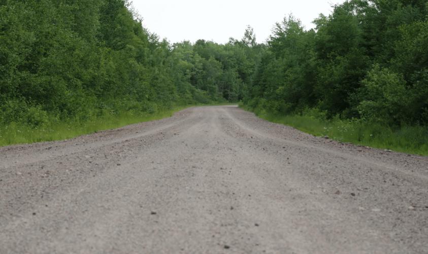 Bevattning av grusväg